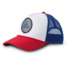 Prana Organic Trucker Hat with Cotton Patch Red White Blue